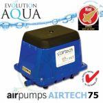 AirPump Airtech 75, 44 Watt, 75 l/min.