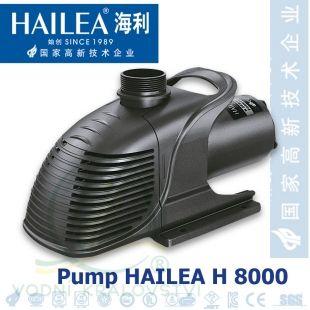 Čerpadlo Hailea H 8000, 7.800 l/hod. 80 Watt, výtlak 4 m