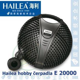 Jezírkové čerpadlo Hailea E 20000, 210 Watt, 17.900 l/hod., max 5,5 m