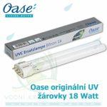 Oase originální náhradní žárovka UV 18 Watt