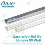 Oase originální náhradní žárovka UV 55 Watt