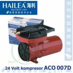 Pístový kompresor Hailea ACO 007D 24V, 140 litrů/min., 130 Watt