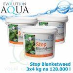 Stop Blanketweed, bio-preparát pro odstranění dlouhých řas, 3x4000 g pro 120-360 m3
