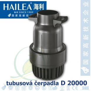 Tubusové, trubkové čerpadlo Hailea D 20000