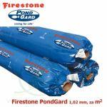 Jezírková fólie Firestone EPDM PondGard 1,02 mm, cena 199 Kč za 1 m2