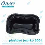 Plastové jezírko 500 l